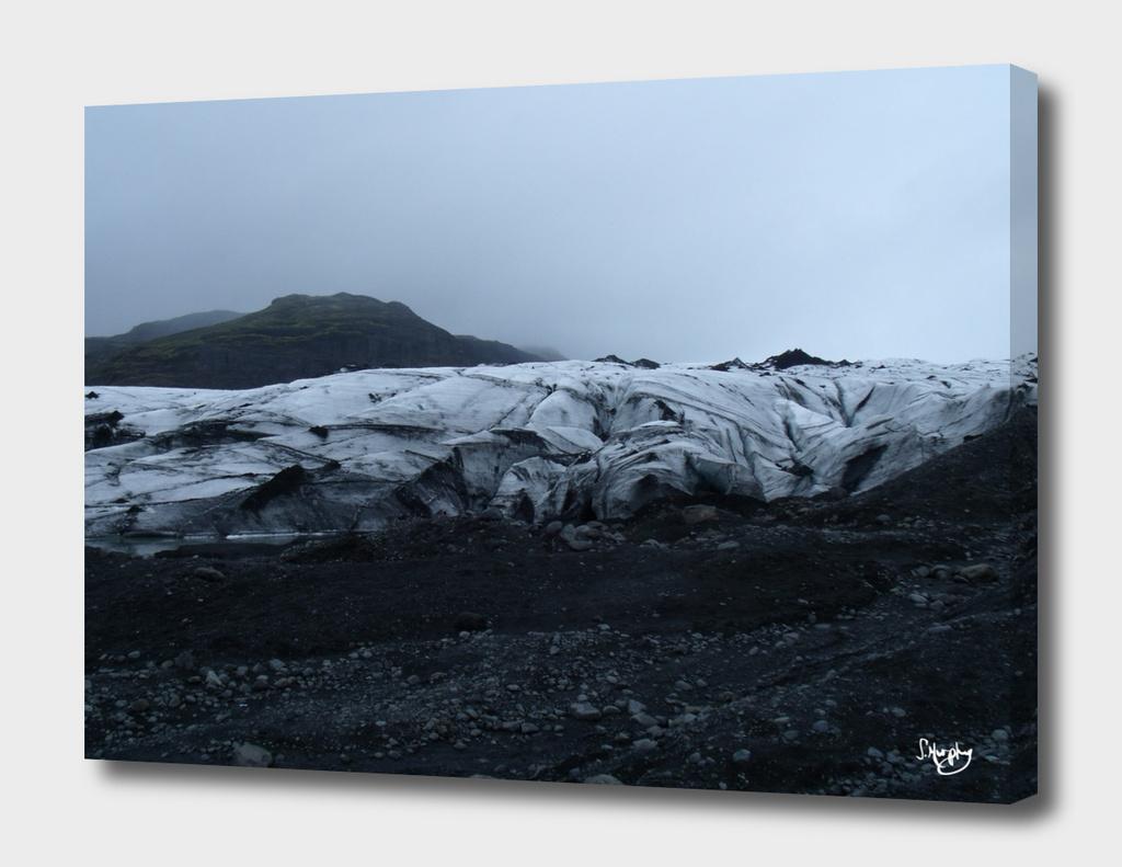 The Solheimajokull Glacier