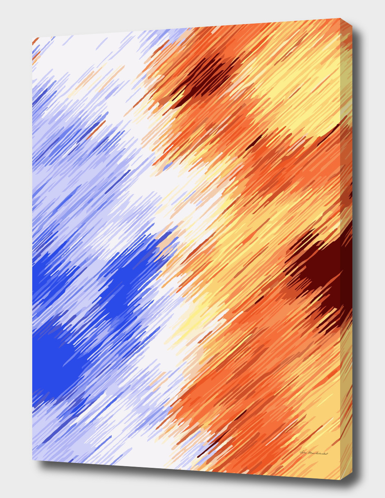 brown and blue abstract painting texture background