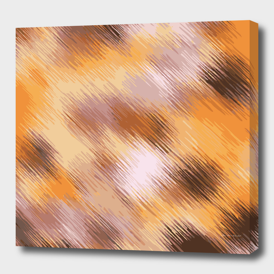 painting texture abstract pattern in brown and yellow