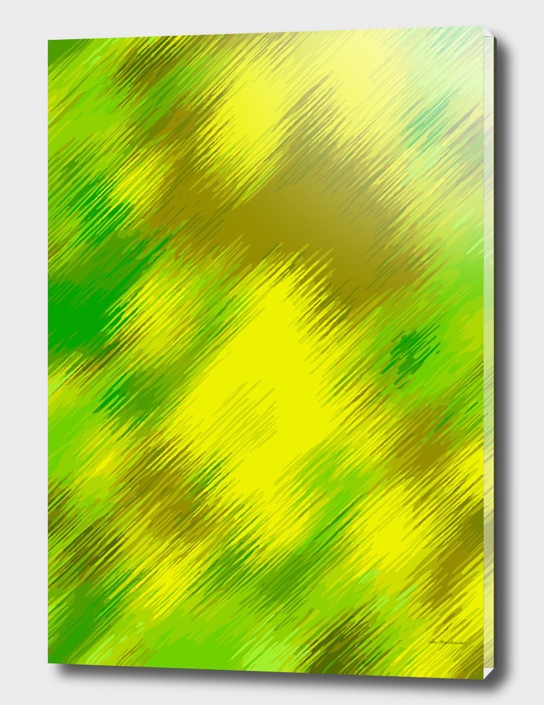 green yellow brown painting abstract background