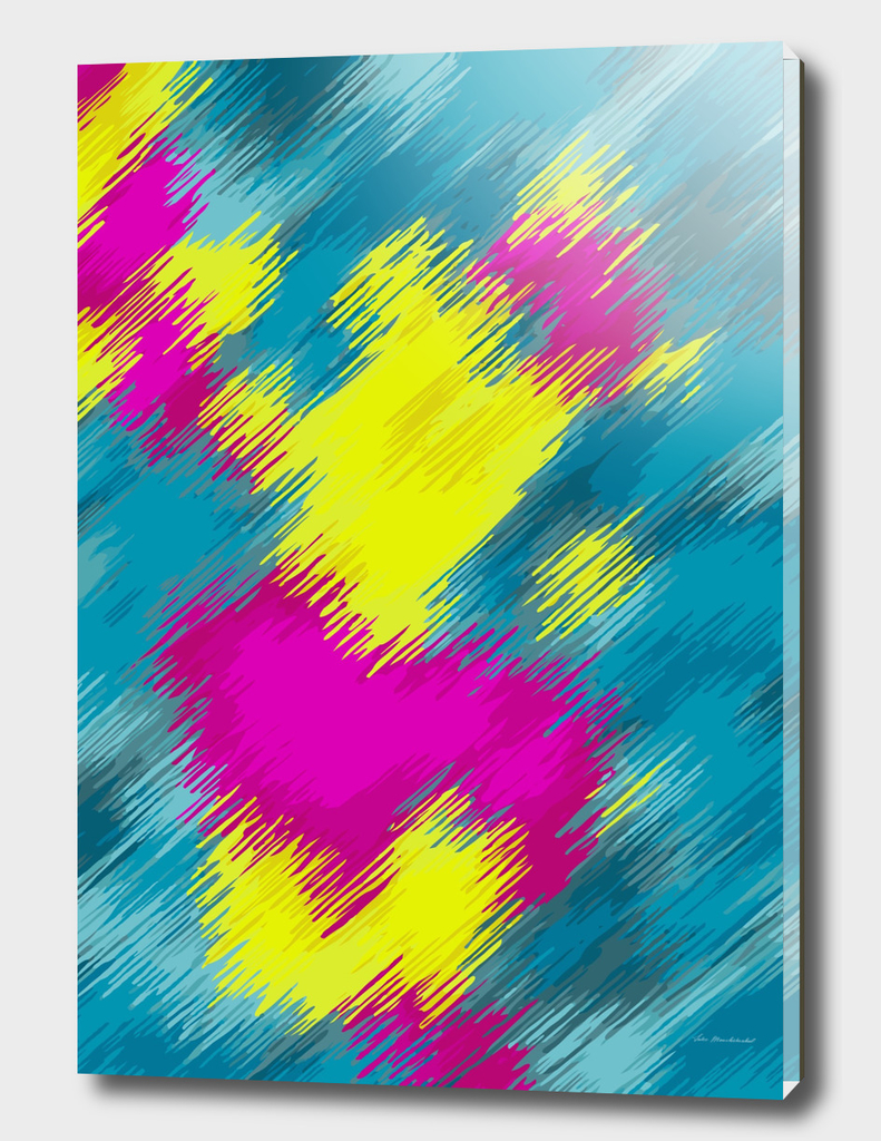 pink blue yellow painting texture abstract background