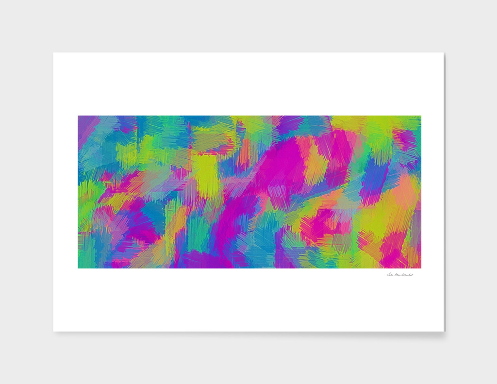 pink blue yellow green painting texture background