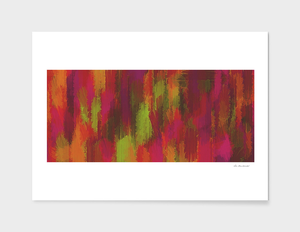 pink green brown painting texture background