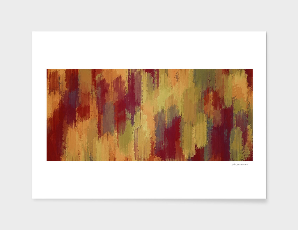 painting texture abstract in brown and red