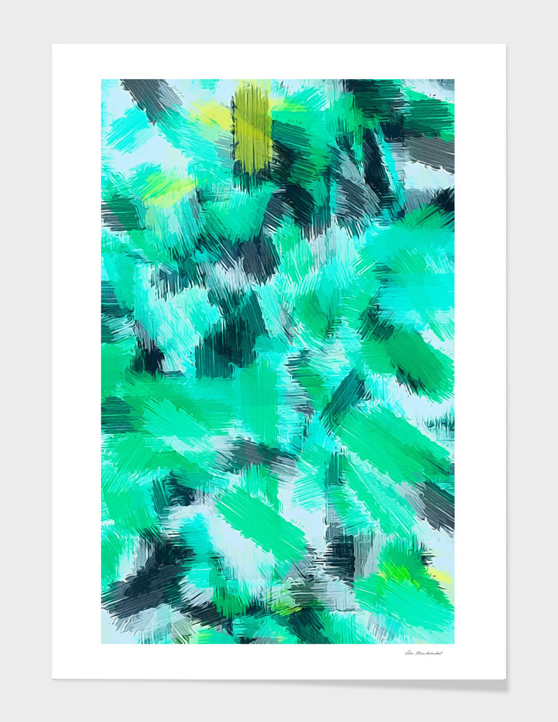 green black and yellow painting texture abstract background