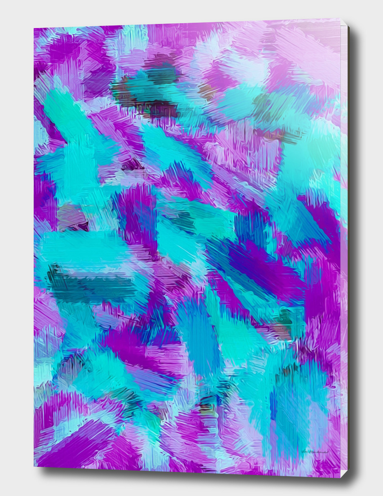 purple blue and pink painting texture abstract background