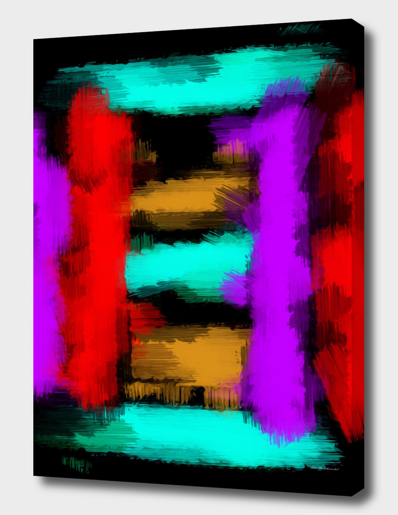 purple red blue brown and black abstract painting background