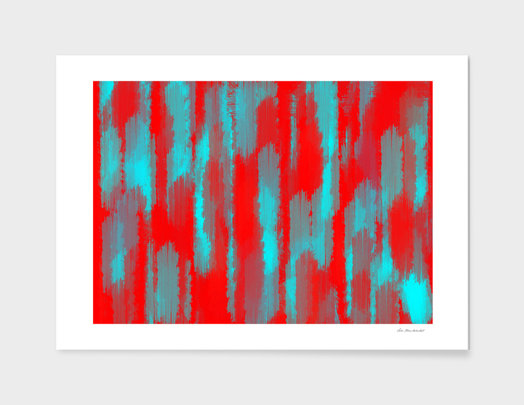 red and blue painting texture abstract background