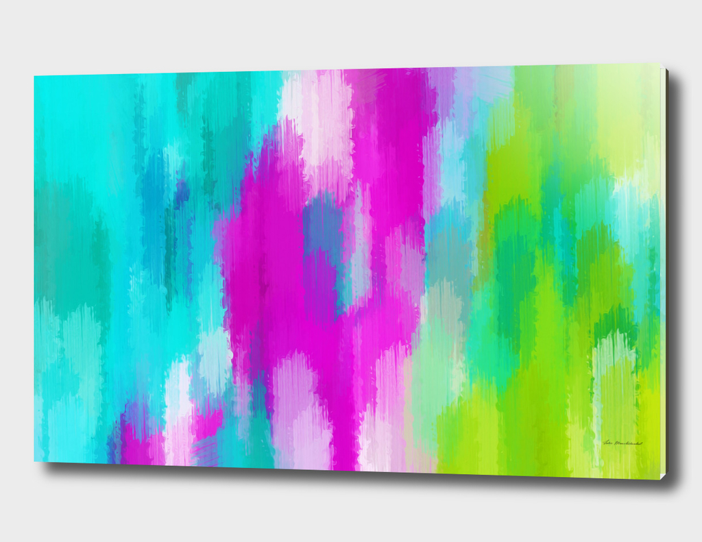 pink blue and green painting texture background