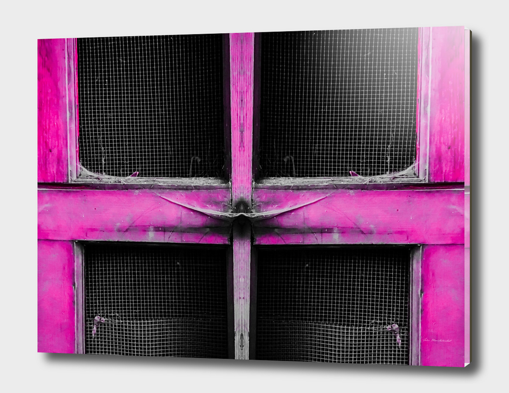 old pink wood door background