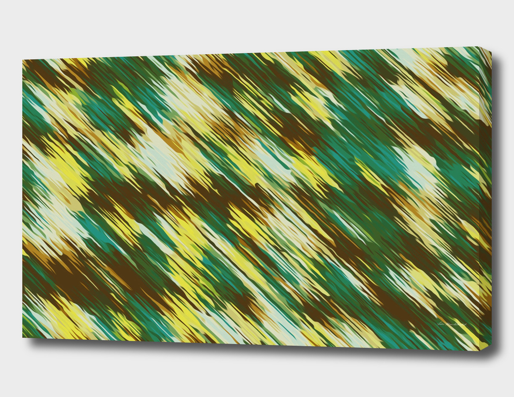 green brown yellow painting texture abstract background