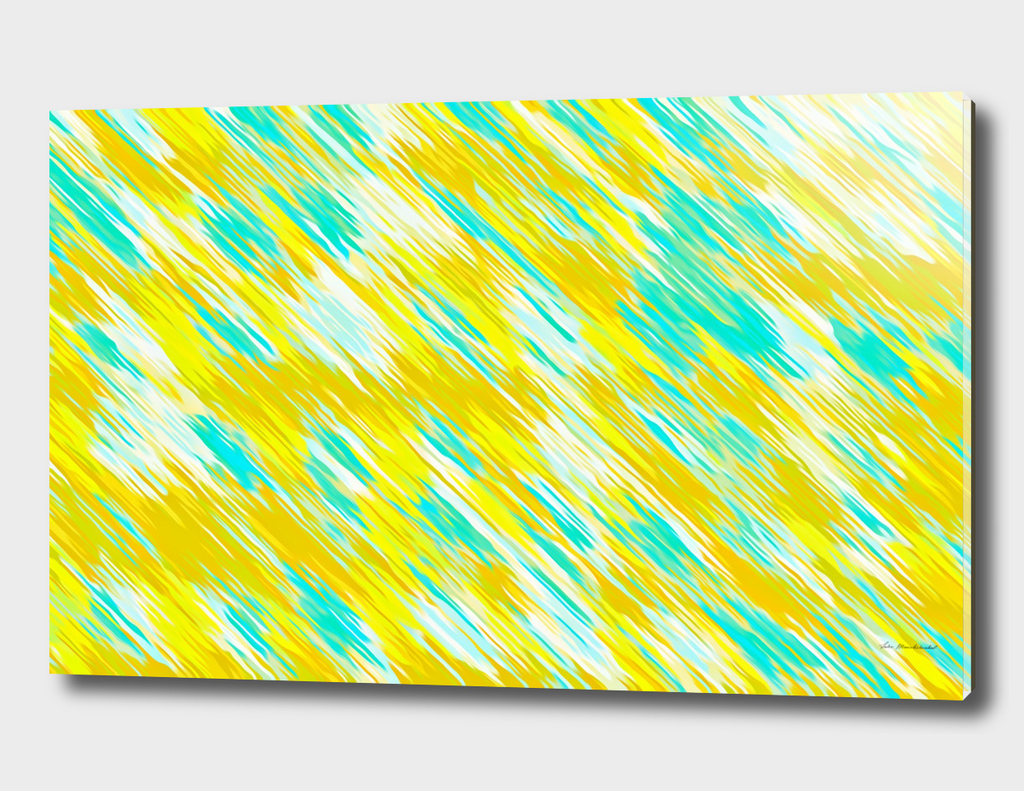 yellow and blue painting texture abstract background