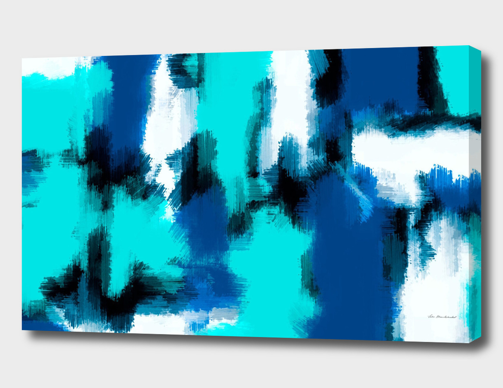 blue black and dark blue abstract painting background