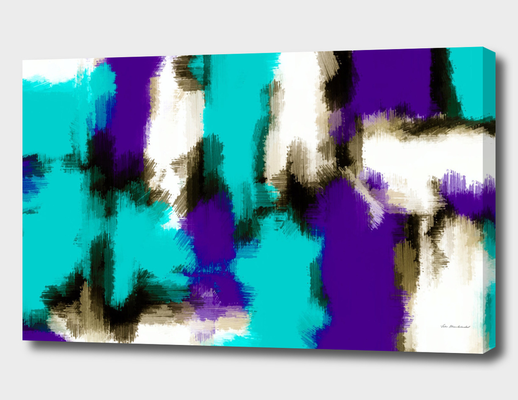 blue and purple painting texture background
