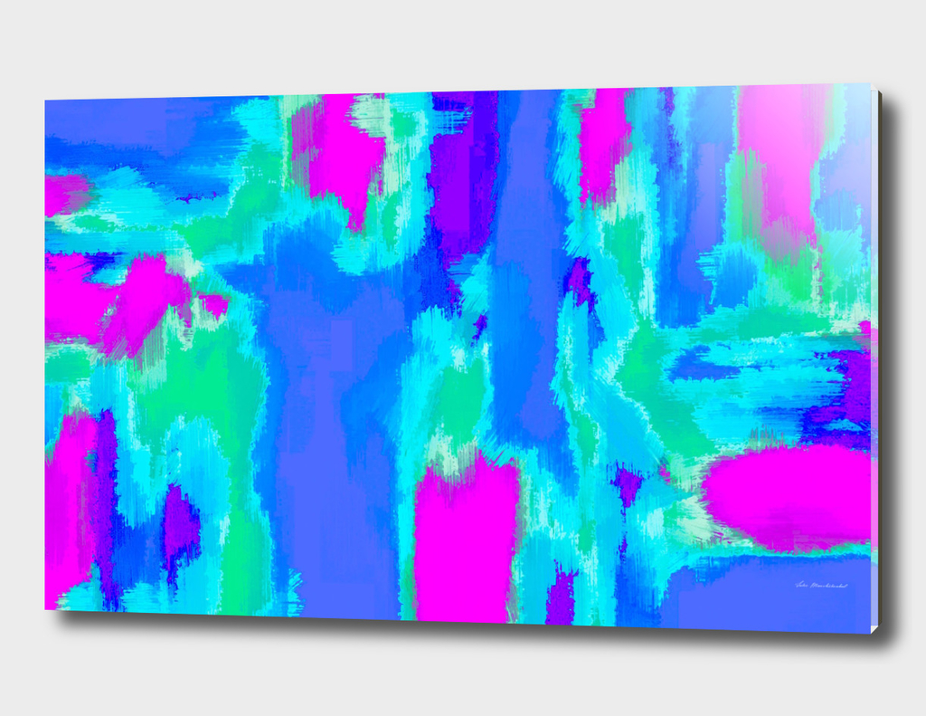 pink blue green painting texture abstract background