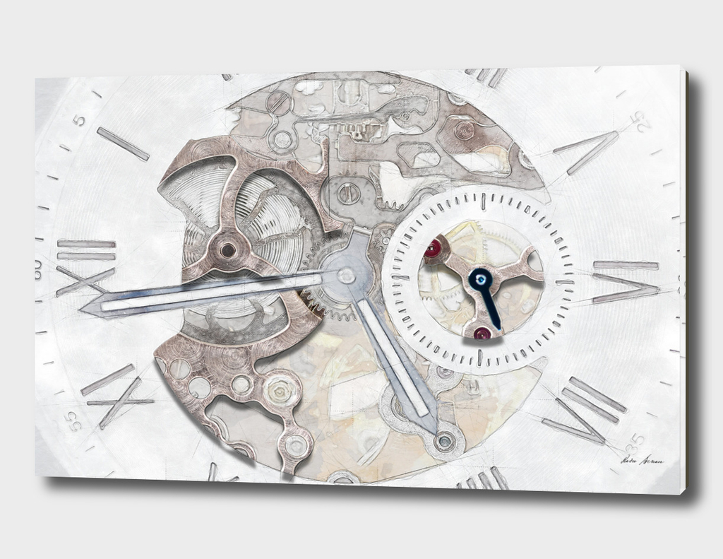 Mechanical Watch Concept With Visible Mechanism