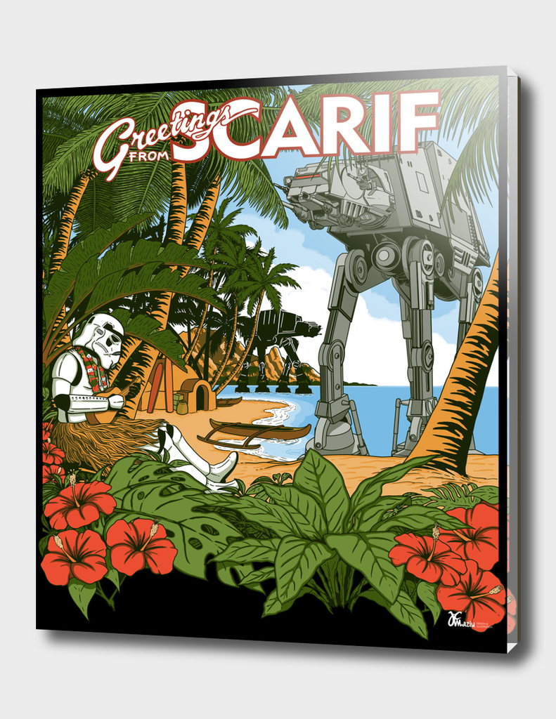 Grettings from scarif
