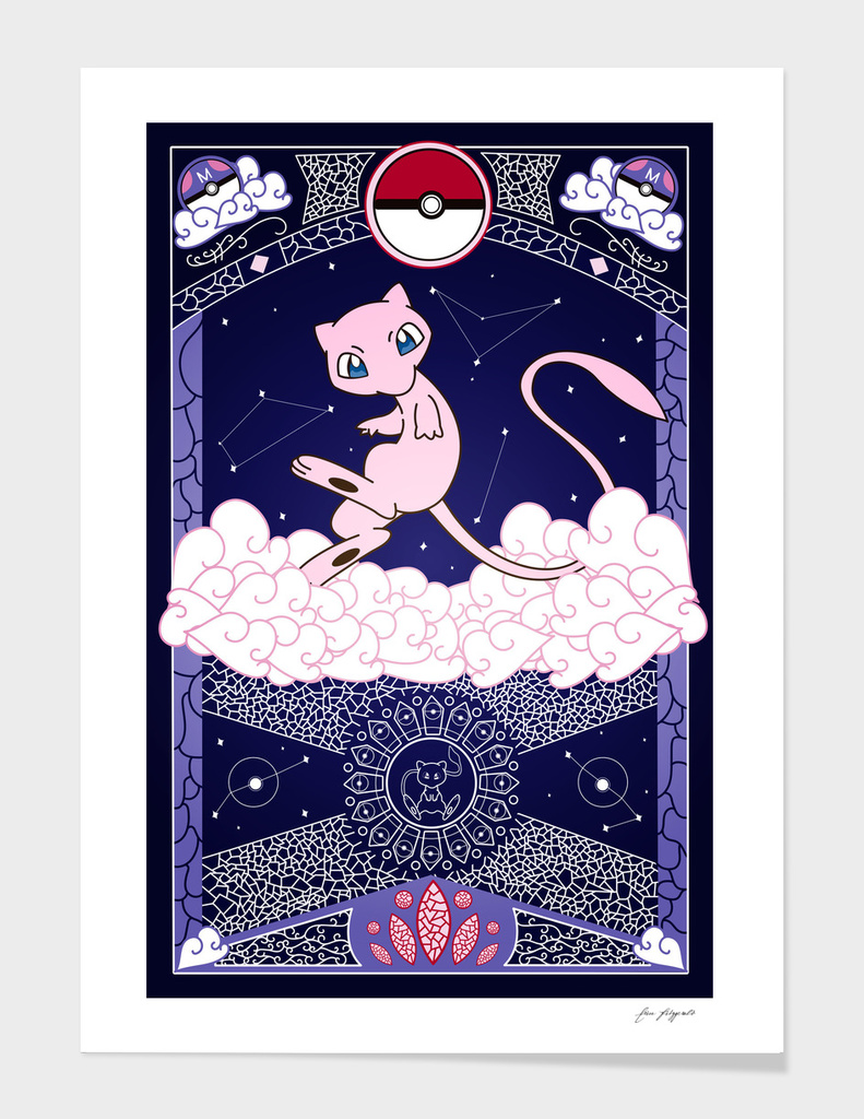 Stained Glass Mew