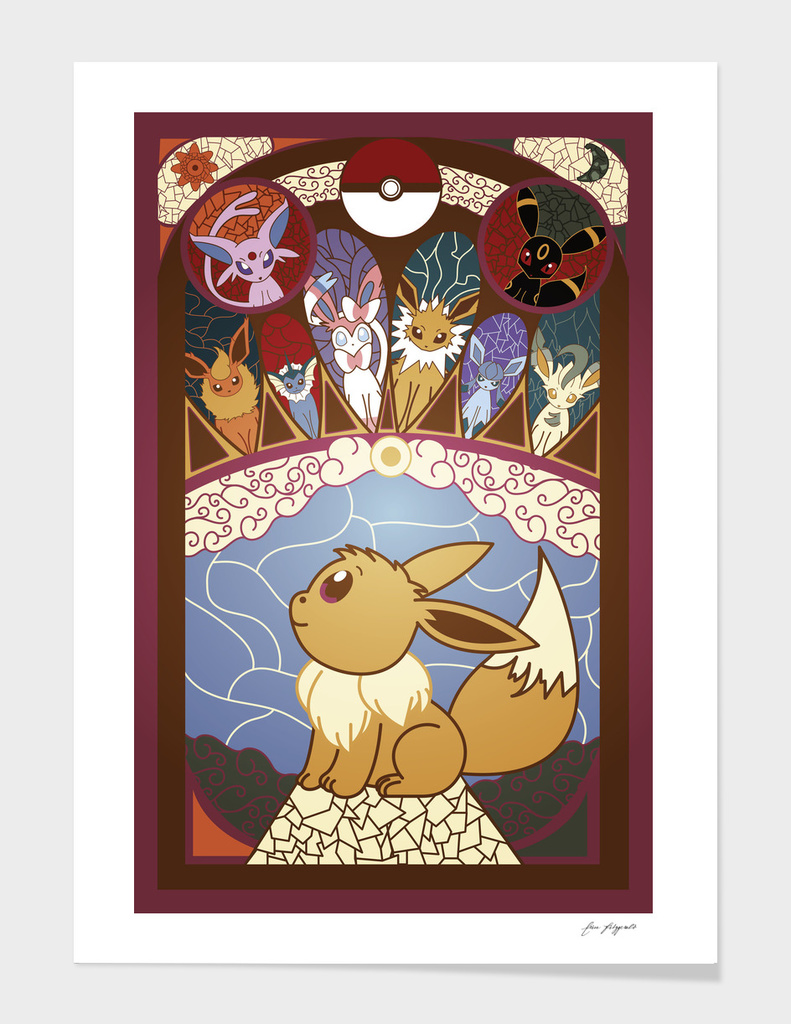 Stained Glass Eevee