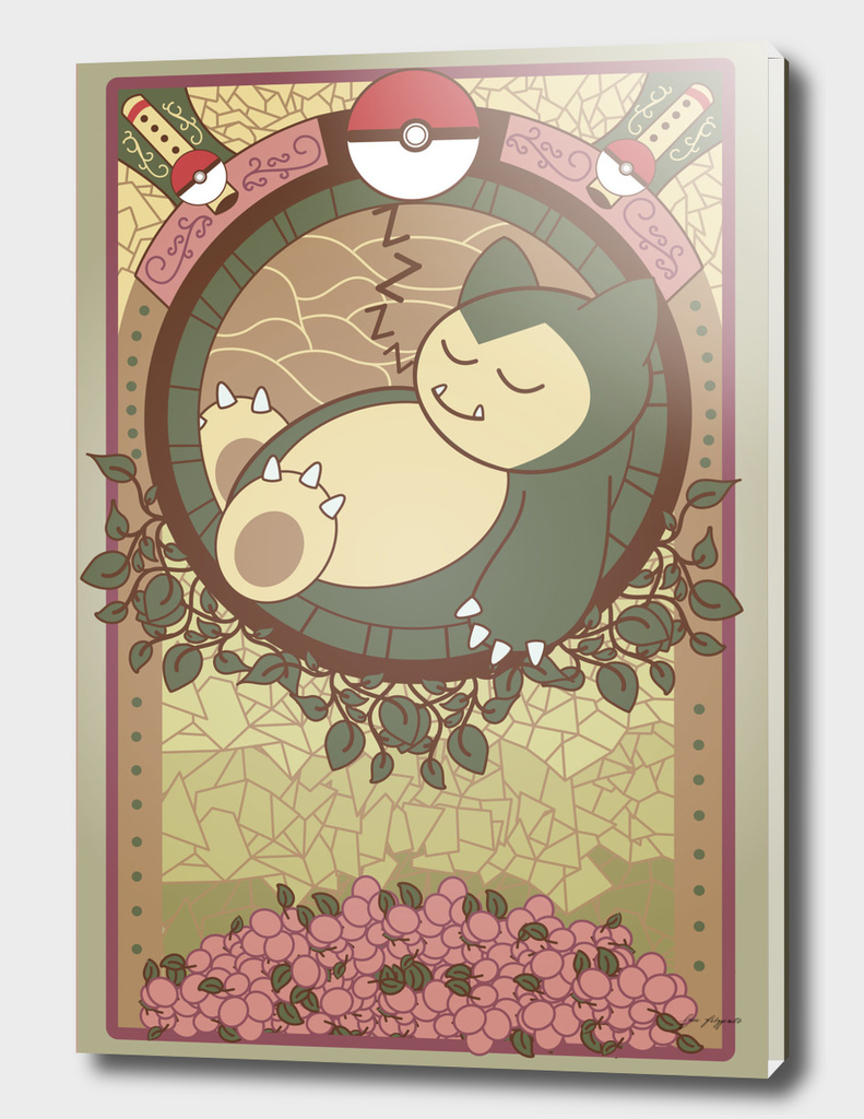 Stained Glass Snorlax