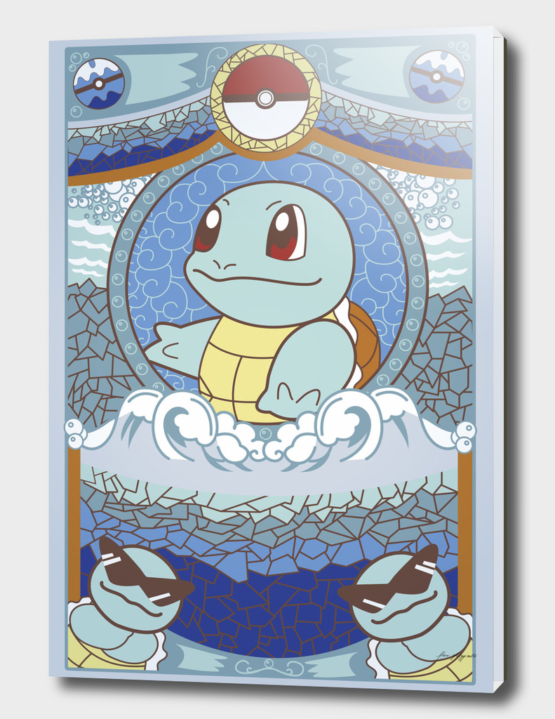 Stained Glass Squirtle
