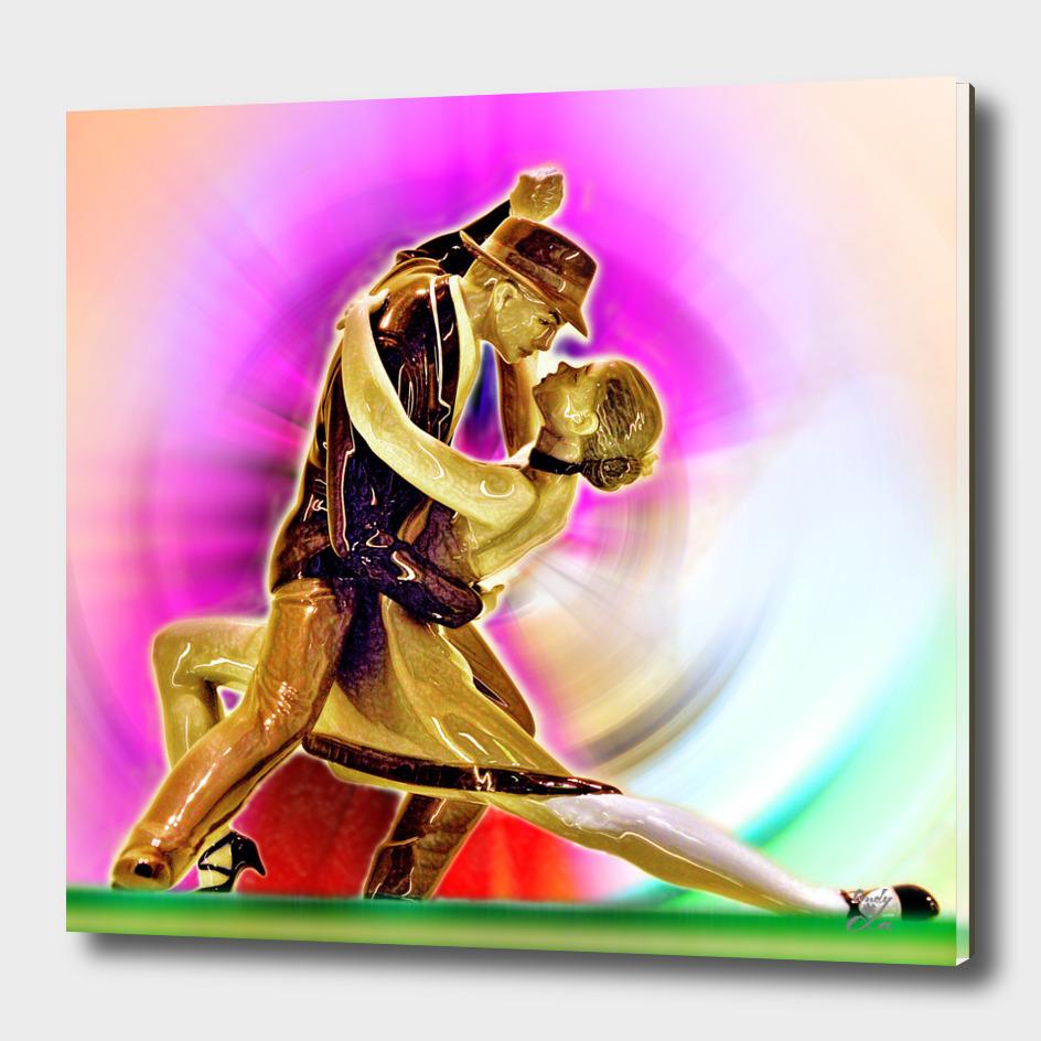 Boisterous Dance. Passion. Love.