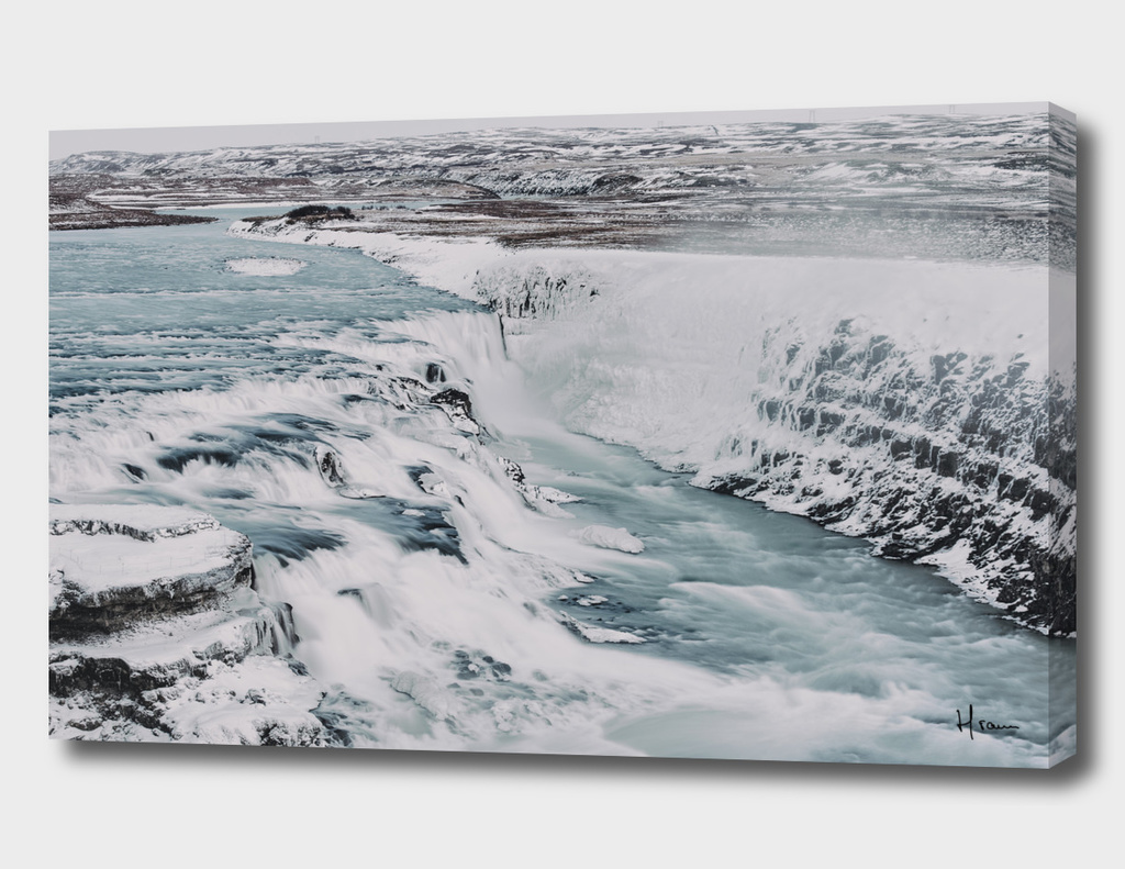 A night at the Gullfoss