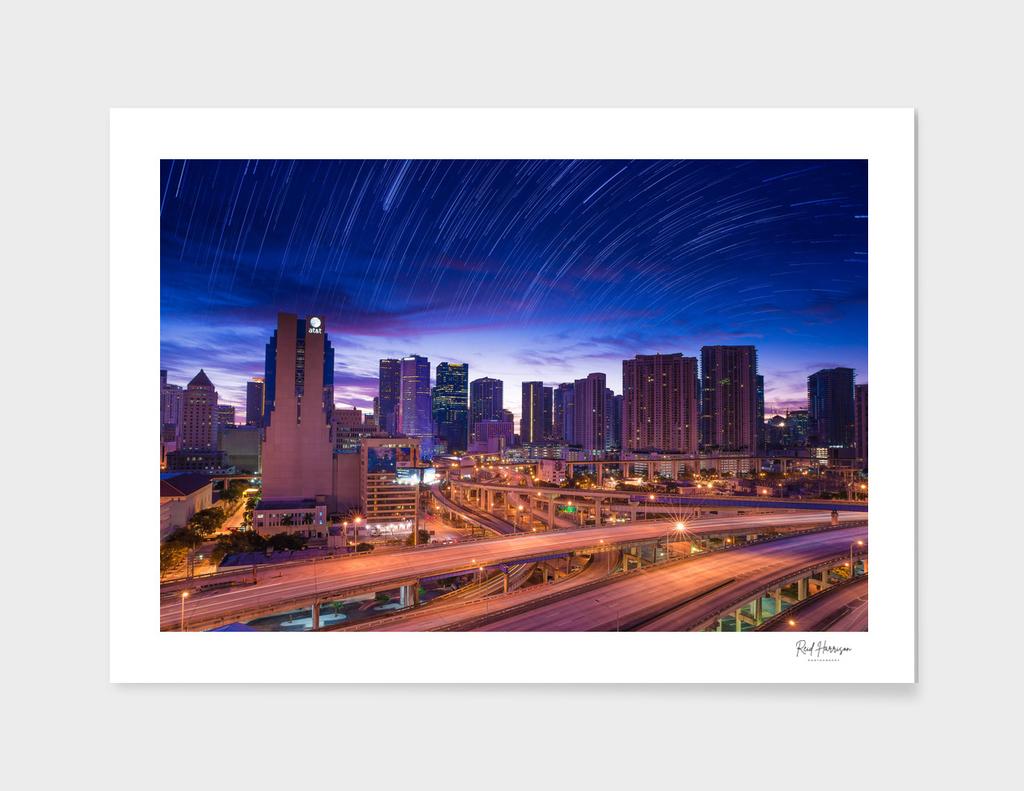 City Stars over Miami