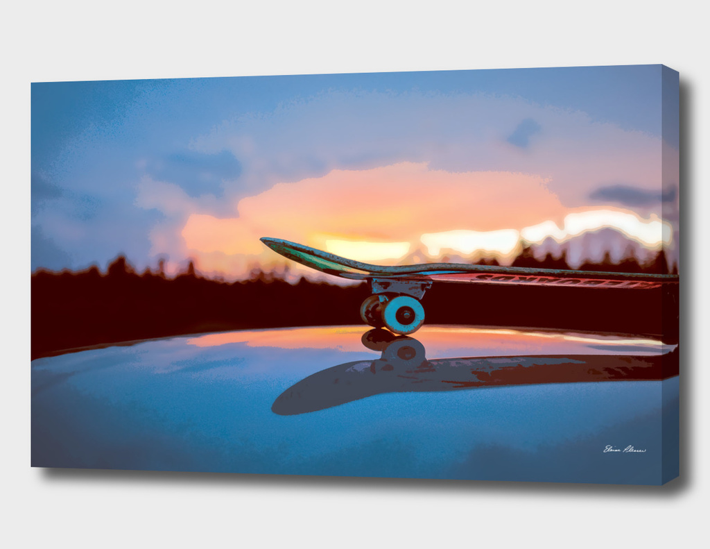 CURIOOS Skateboard Reflections