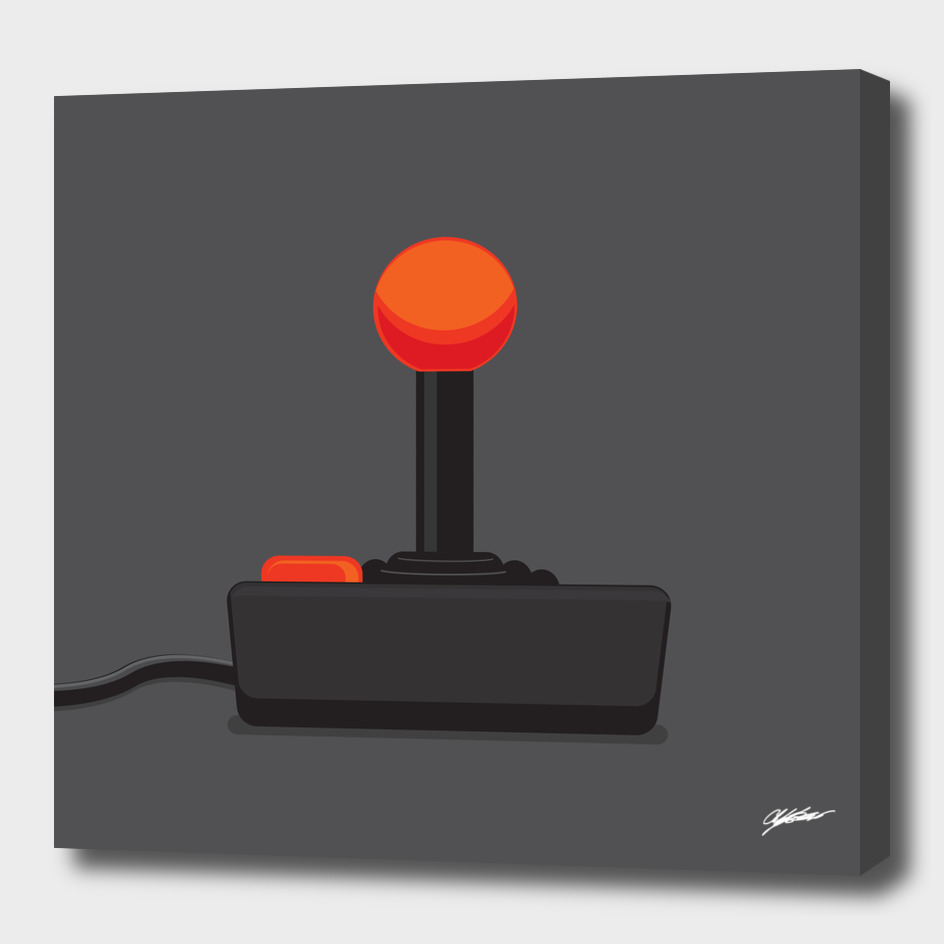 Vintage Video Game Joystick