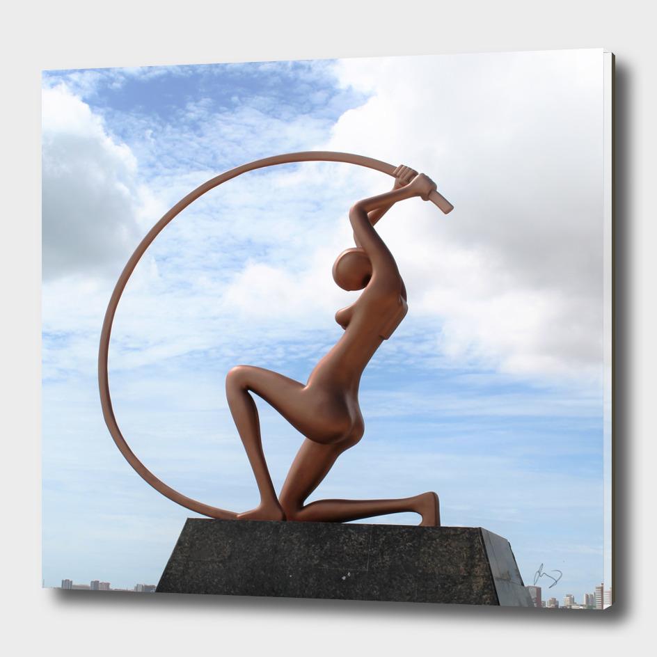 Statue of Iracema