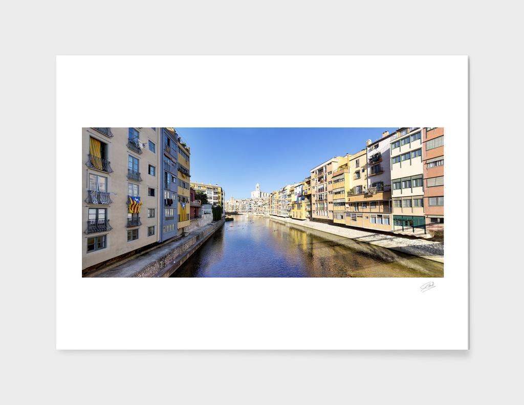Girona Skyline, Spain