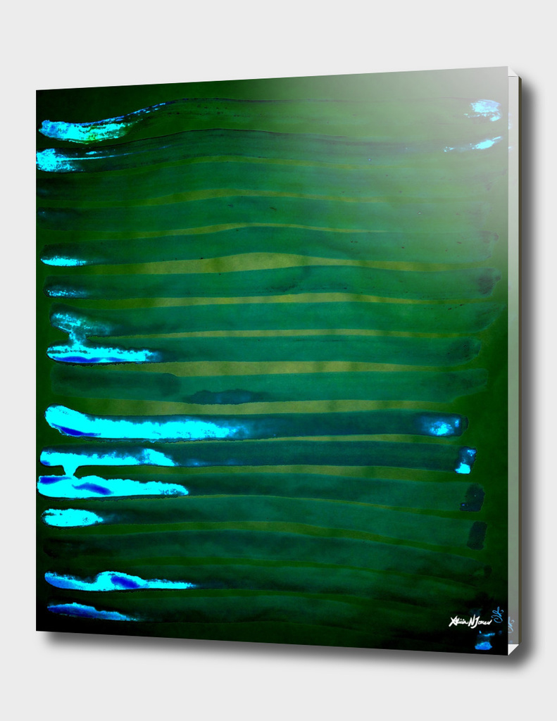 Greenery Water Lines Belong to Everyone
