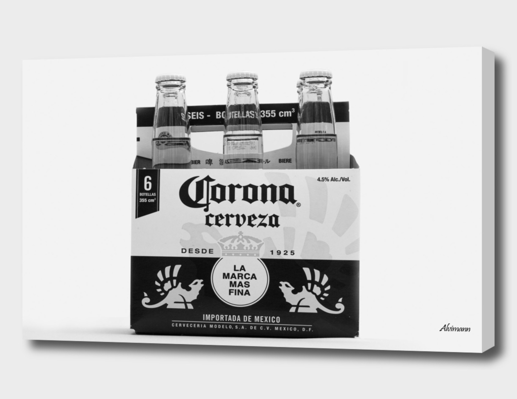 Corona 6-Pack in B&W