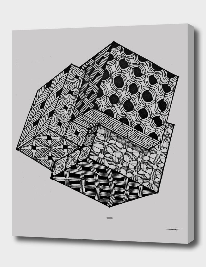 Interlocking Cube Grid