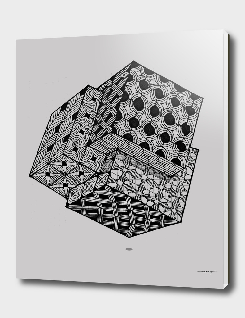 Interlocking Cube Grid