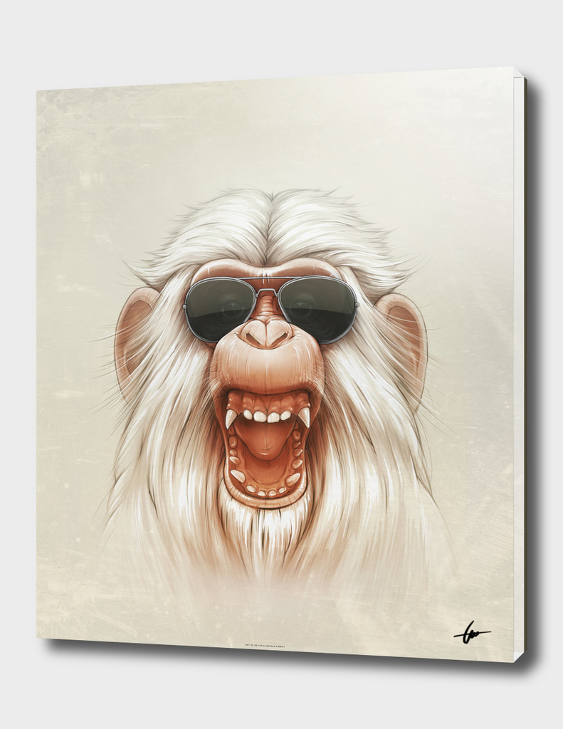 The Great White Angry Monkey