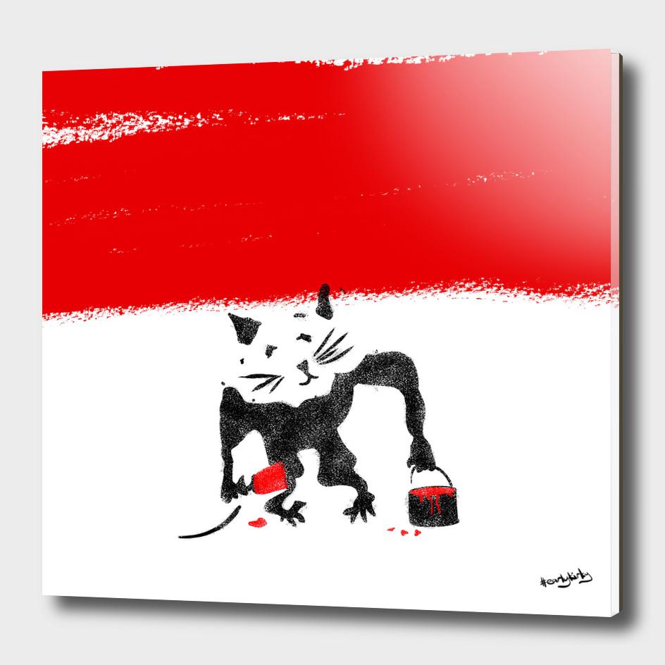 Rat Stencil
