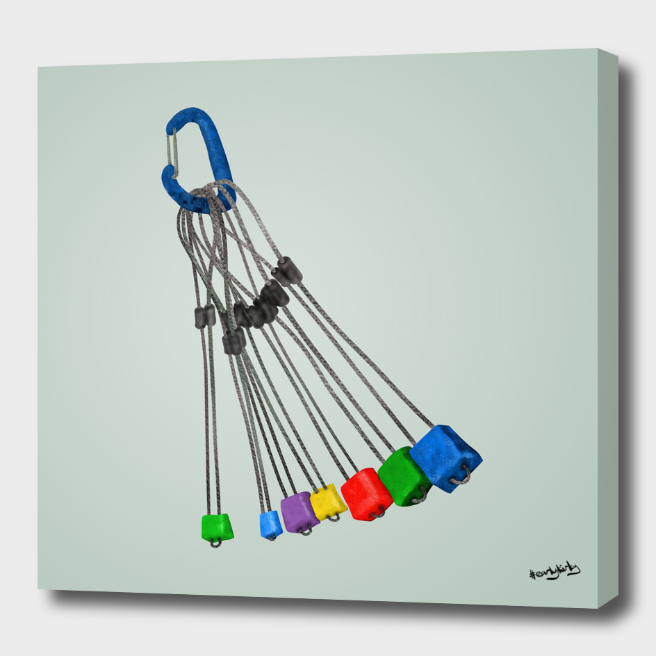 Rock Climbing Wires