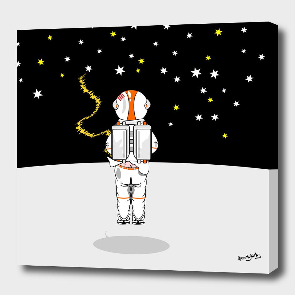 Astronaut wee