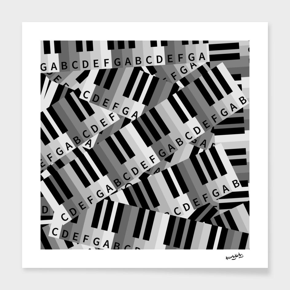Piano Keys Pattern