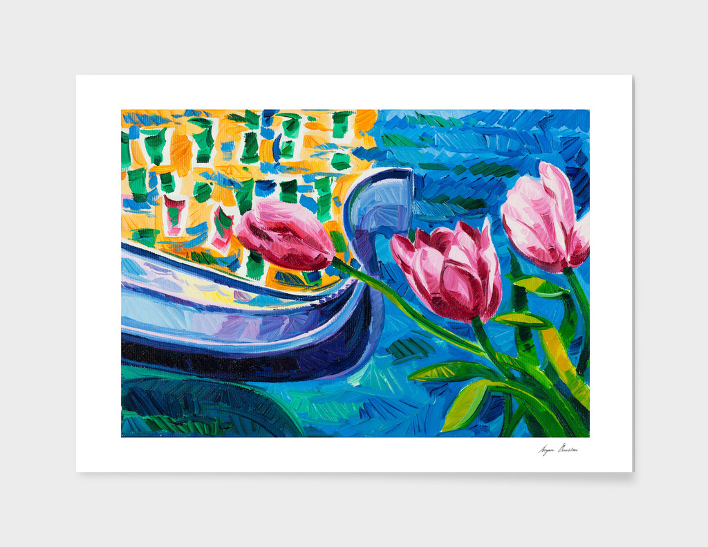 Tulips and gondola