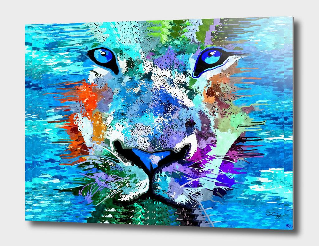 Wild Water Lion