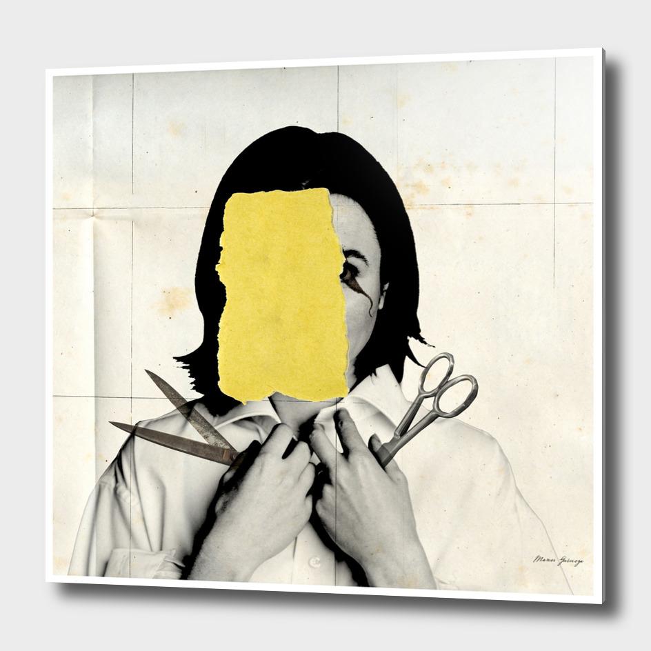 cut & paste woman