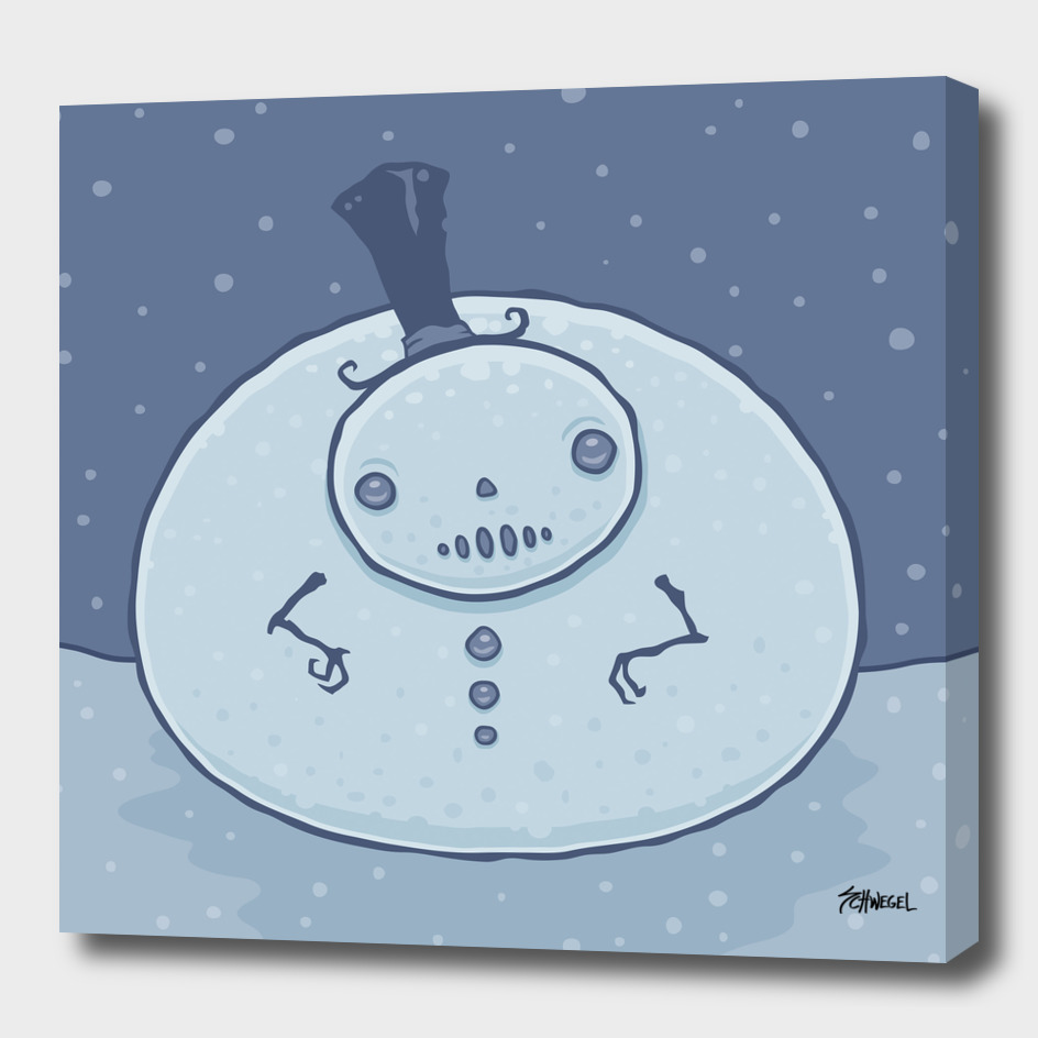 Pudgy Snowman