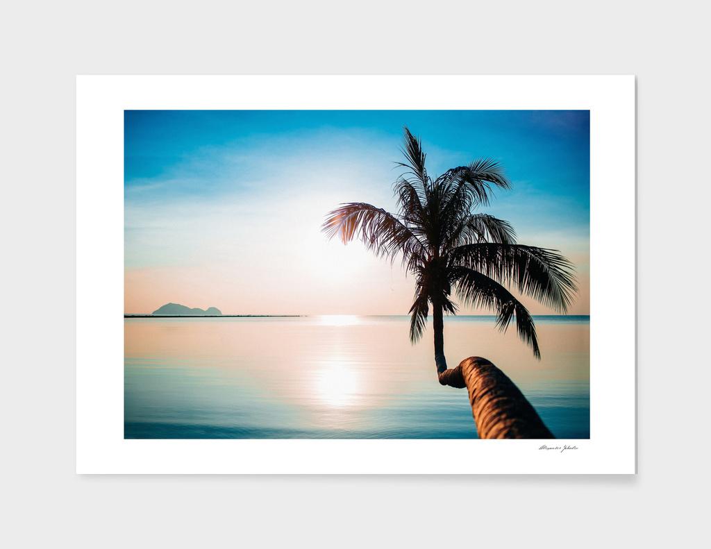 Sunset. Thailand