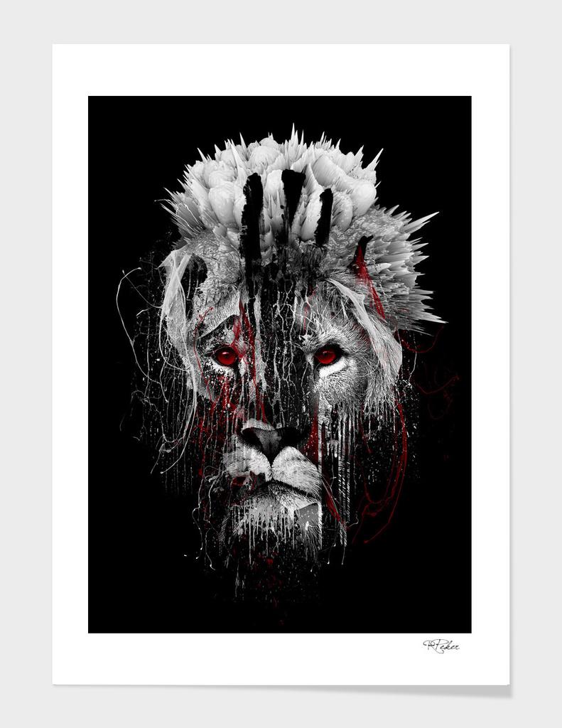 LION - RED EYE