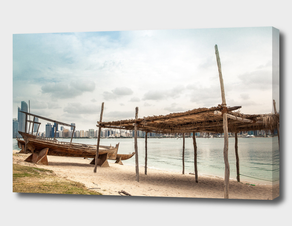 Abu Dhabi romance beach