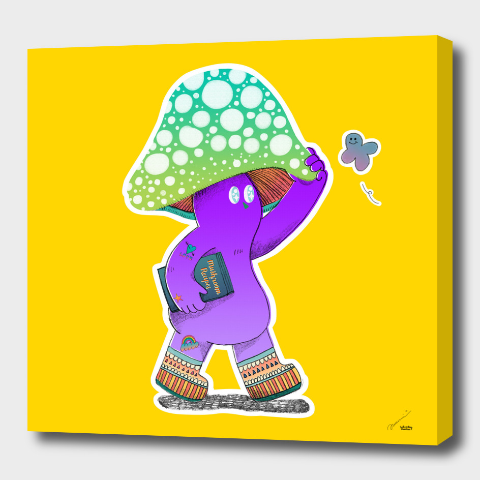 I am wondering who would want a mushroom print
