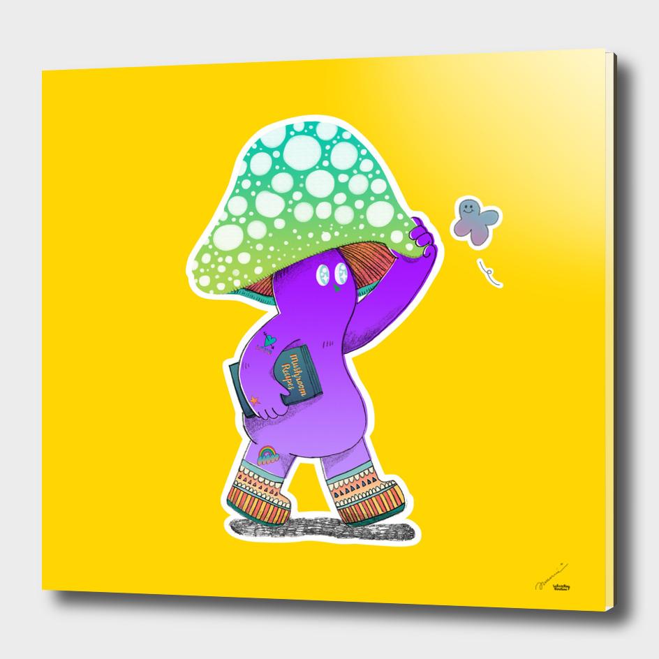 I am wondering who would want a mushroom print